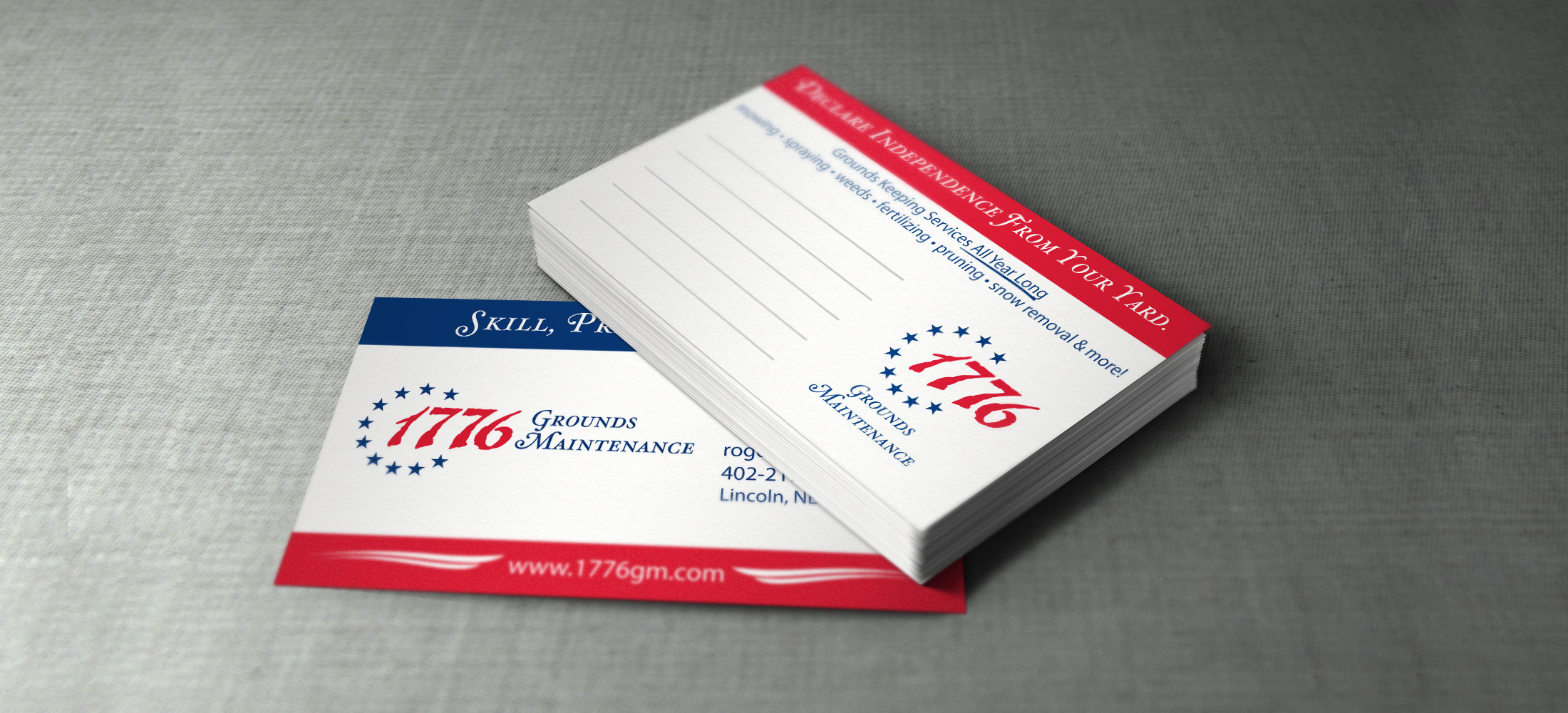 1776 Business Cards