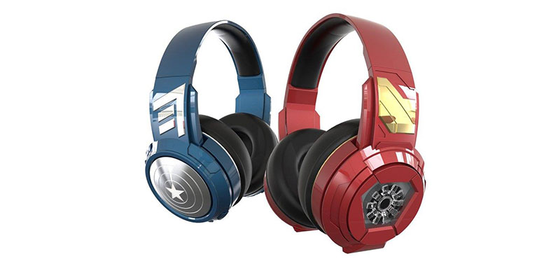 Iron Man Captain America BT Headphones