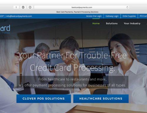 Best Card Payments Website