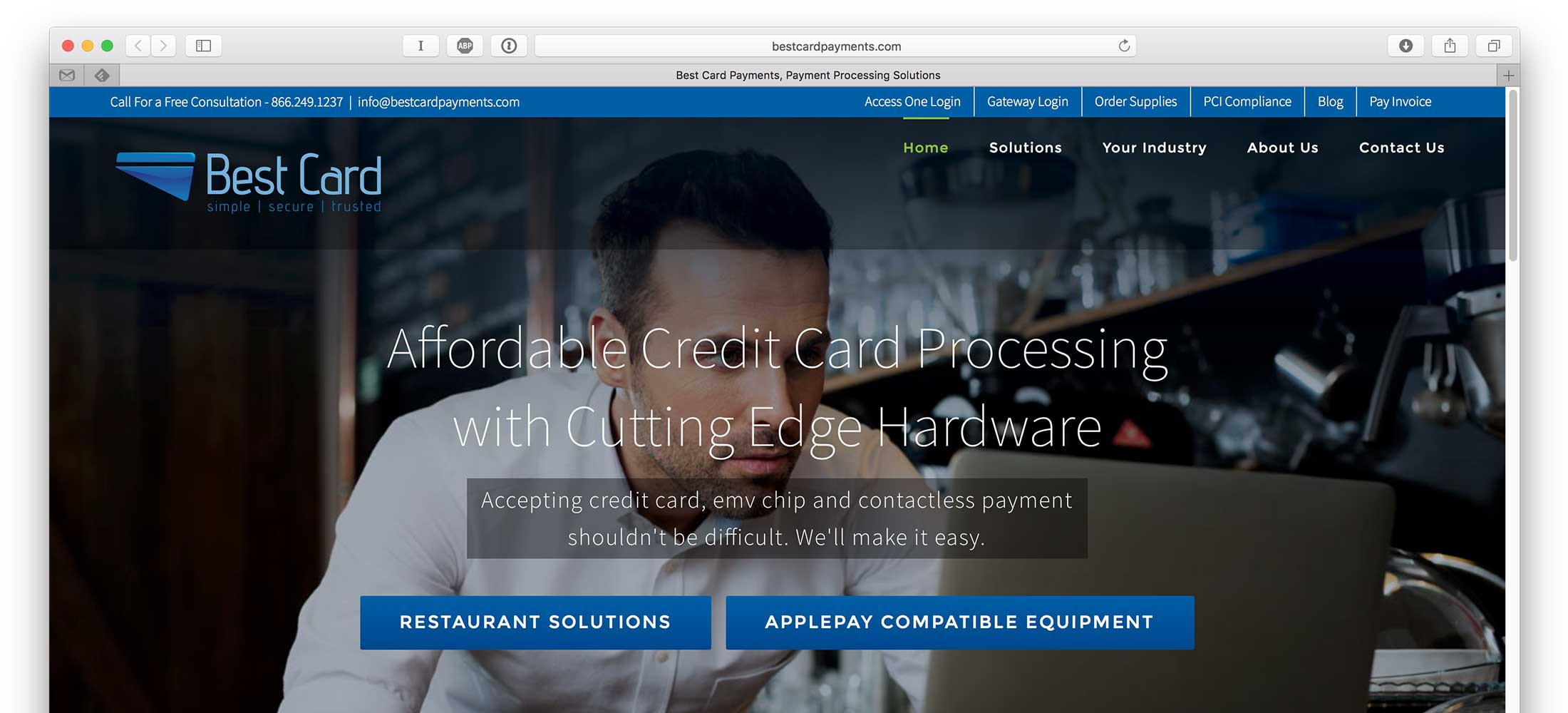 Best Card Website Design 2