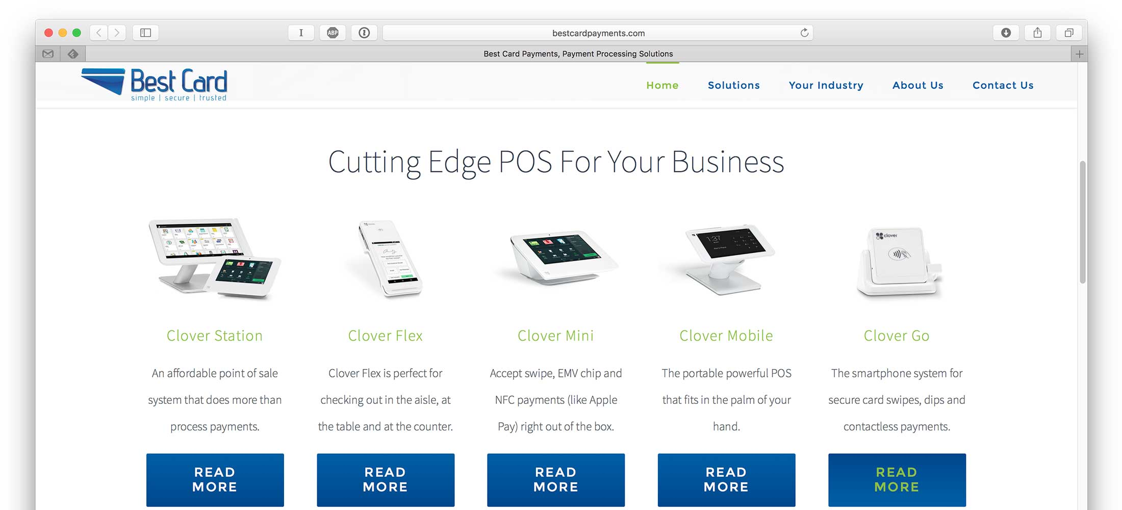 Best Card Website Design 3