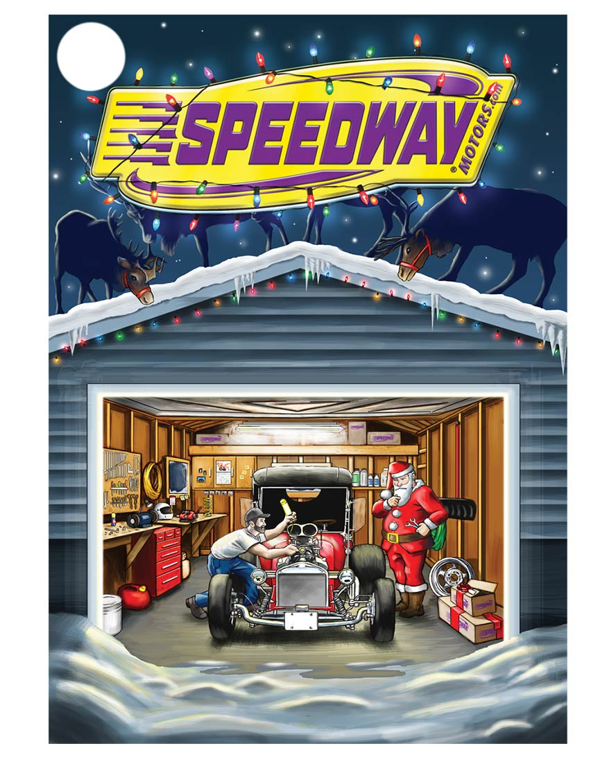Motorsports Illustration
