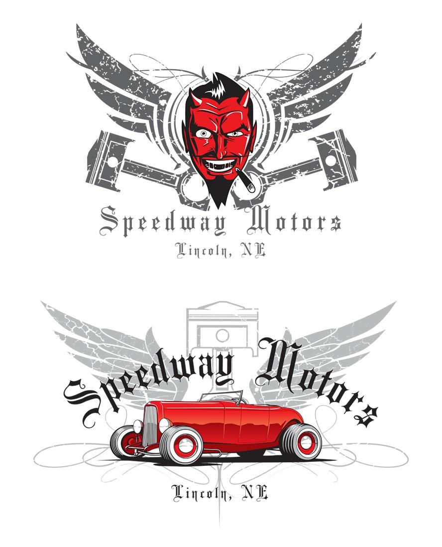 Motorsports Tshirt Graphic