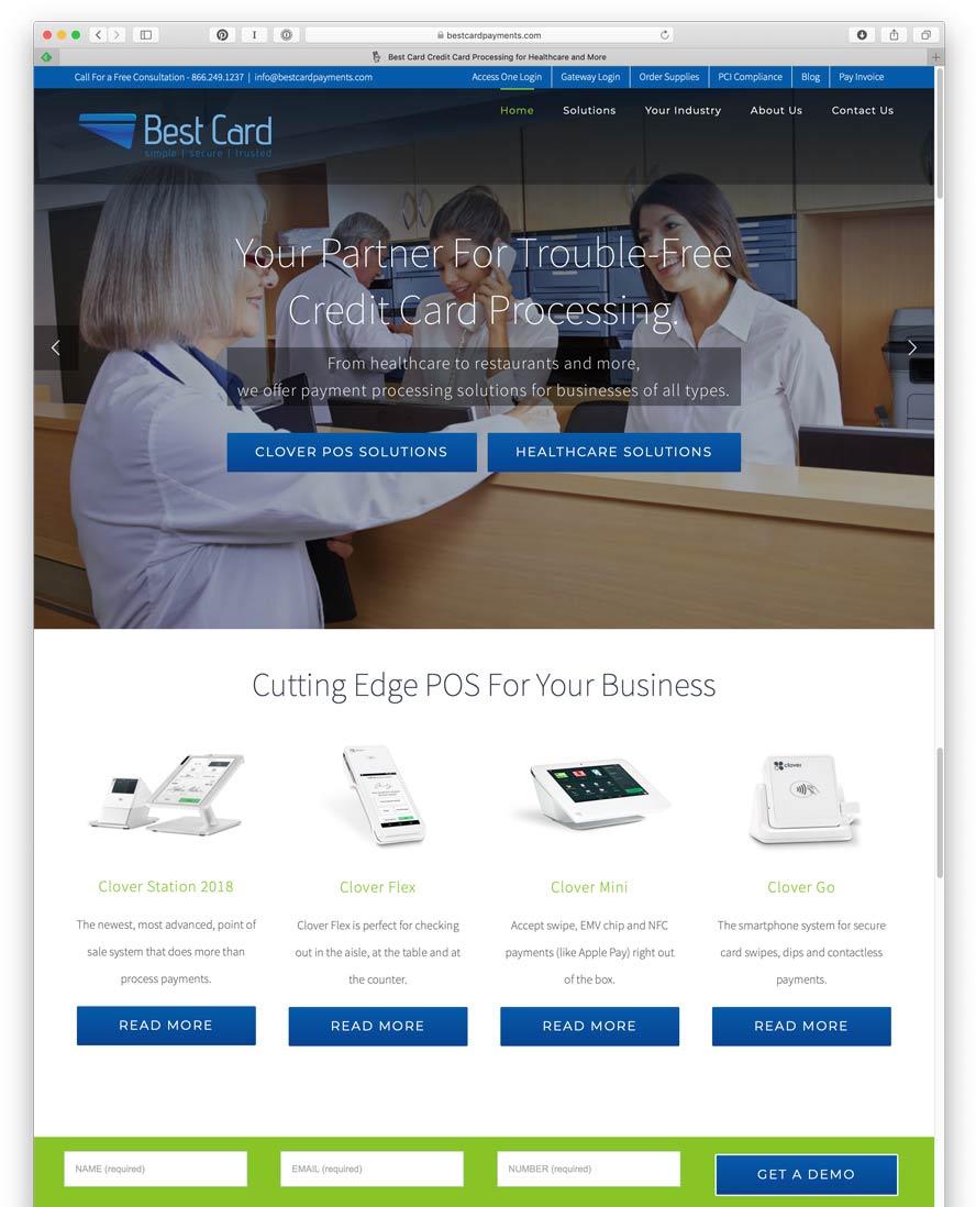 BestCard Payments Website