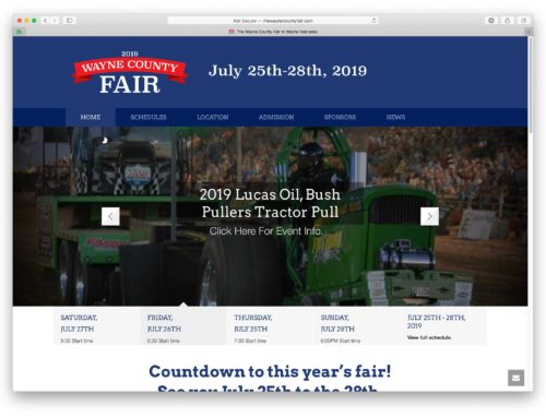 Wayne County Fair Website
